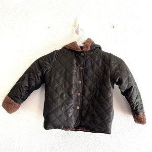 CHASE N'LONDON quilted Sherpa lined jacket various